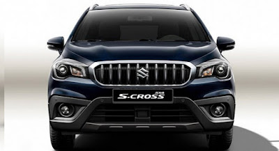 Suzuki S-Cross Facelift Front view Hd Image