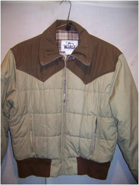 Vintage Woolrich Insulated Cowboy Western Jacket