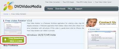 Download Free Video Rotator v3.0