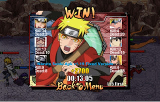 Free Download Naruto Shippuden Senki Apk v1.19 Fixed Version