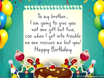 Happy Bday Bro Wishes For Whatsapp