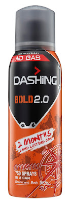 DASHING ADVENTURER 2.0  THE FIRST BREAKTHROUGH INNOVATION IN MALAYSIA -Dashing Deodorant Spray 150ml BOLD 2.0