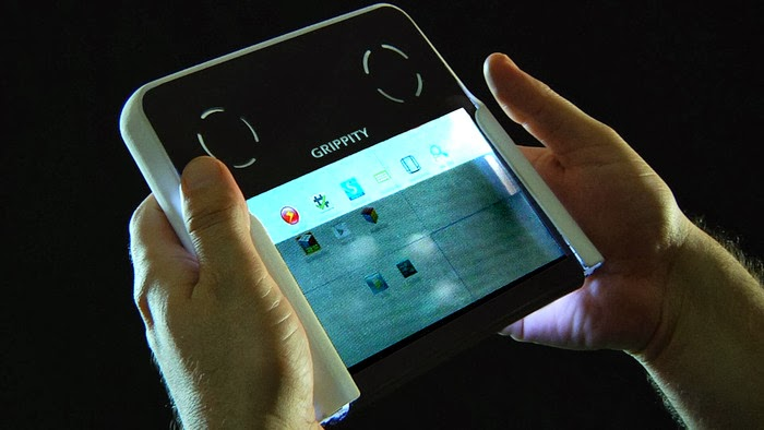 World's First Dual Screen Transparent Tablet: Intelligent Computing