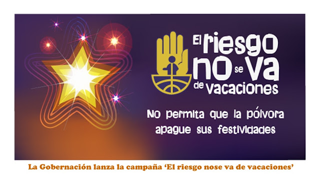 Gobernación NdeS lanza la campaña de fin de año 2016: 'El riesgo no se va de vacaciones' #RSY #OngCF