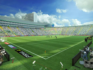Estadio nou camp leon Pes 2013