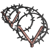 Barbed Wire - T1 - Jenis Jebakan Pada Mobile Strike