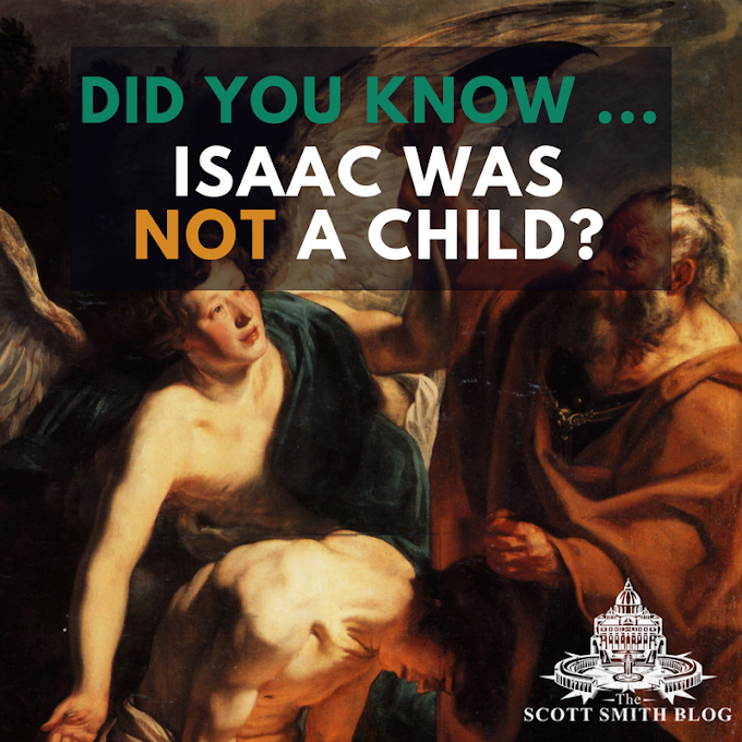 Did You Know ... Isaac Was NOT a Child?