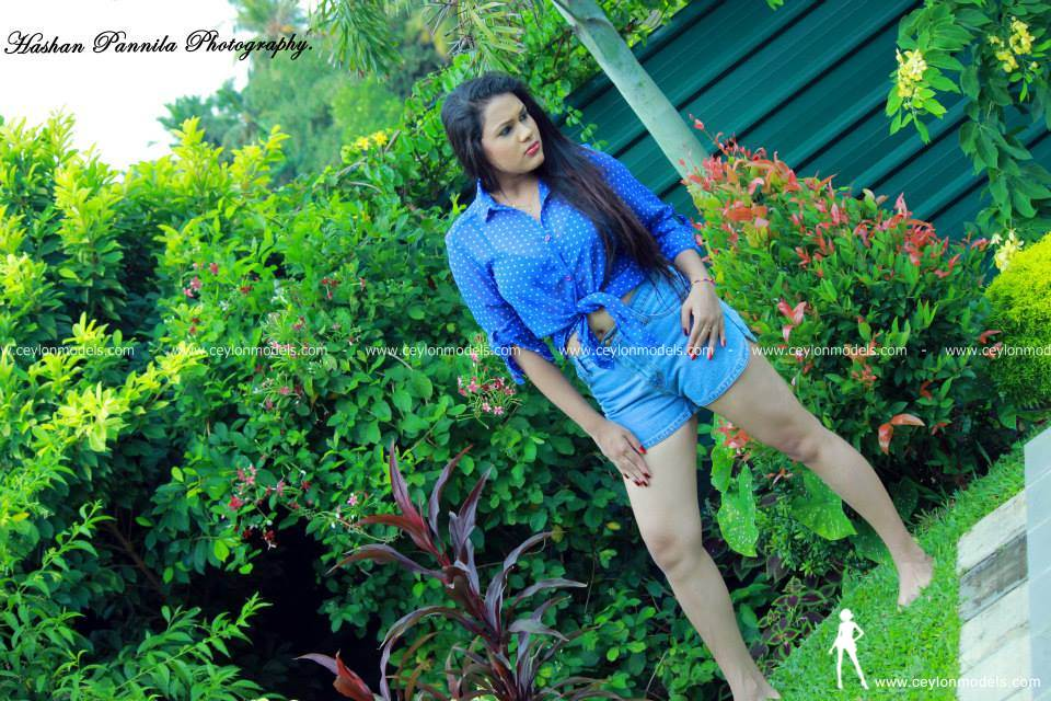 Shani Perera blue skirt 6