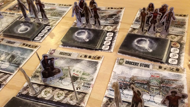 Dead of winter board game review zombies