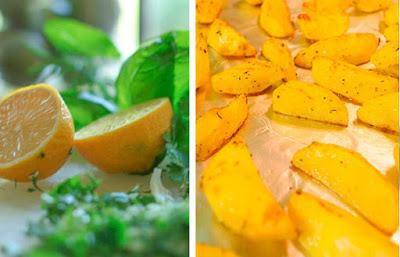 лимонная соль с травами для картофеля