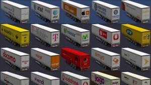 Telecommunications Companies Trailers Pack