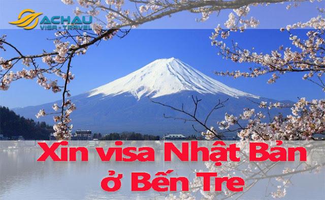 Xin visa Nhật Bản ở Bến Tre như thế nào ?