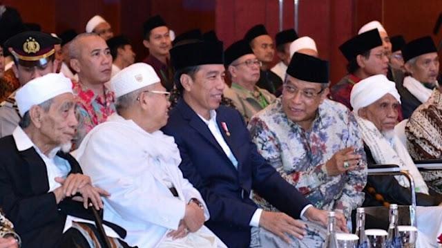 Presiden Jokowi Hadiri Munas-Konbes Nahdlatul Ulama, Lombok, Kamis, (23/11/2017)