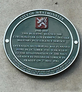 City of Westminster Green Plaque 3-8 Porchester Gate