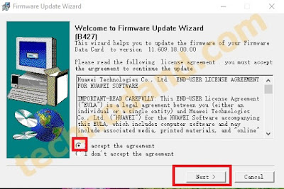 Cara Upgrade firmware Modem Huawei E153