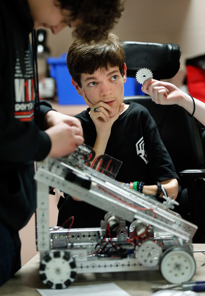 Slate Update: Compettive High School robotics starts Thursday