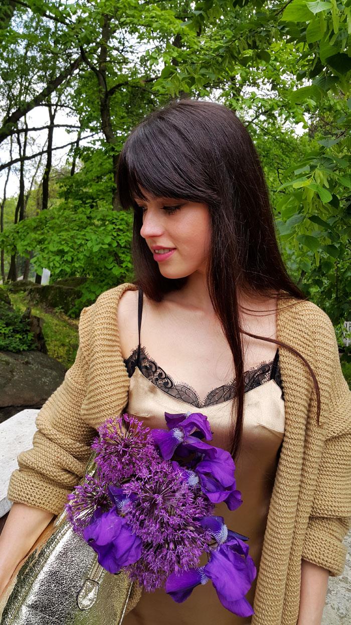пошив платья в бельевом стиле
