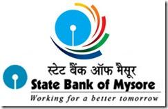 State Bank of Mysore Recruitment 2015