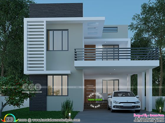 3 bedroom 1660 sq-ft  beautiful modern home design