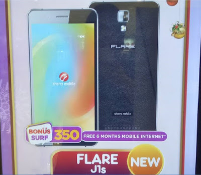 Cherry Mobile Flare J1s; Quad Core Android Marshmallow for Php2,499