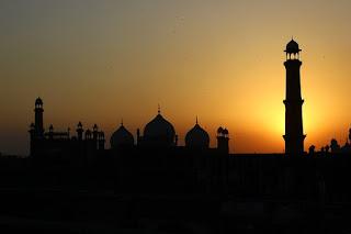 Pakistan lahore fort, badshahi mosque
