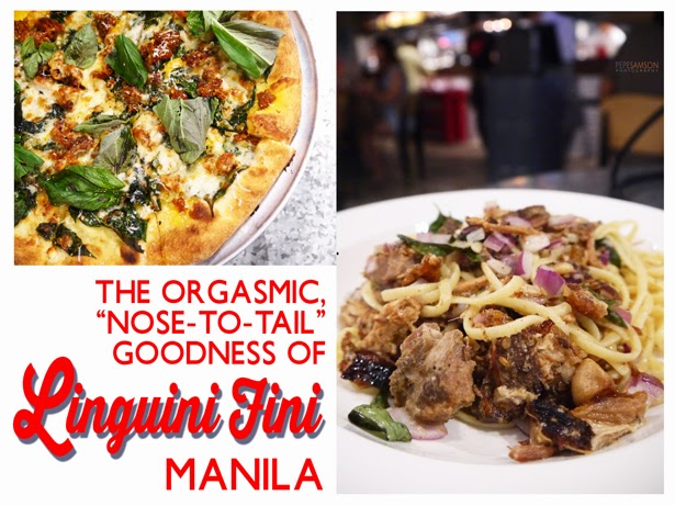 "The Orgasmic, ""Nose-to-Tail"" Goodness of Linguini Fini Manila"