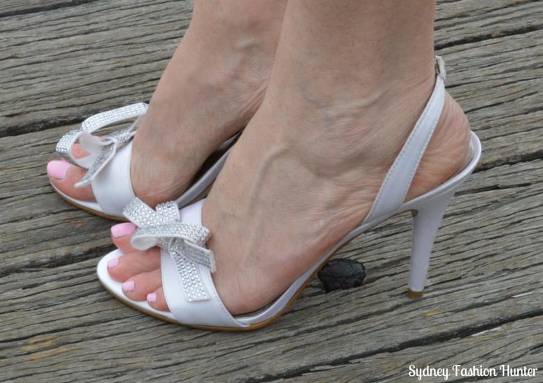 Nine West Sweeti Sandals White