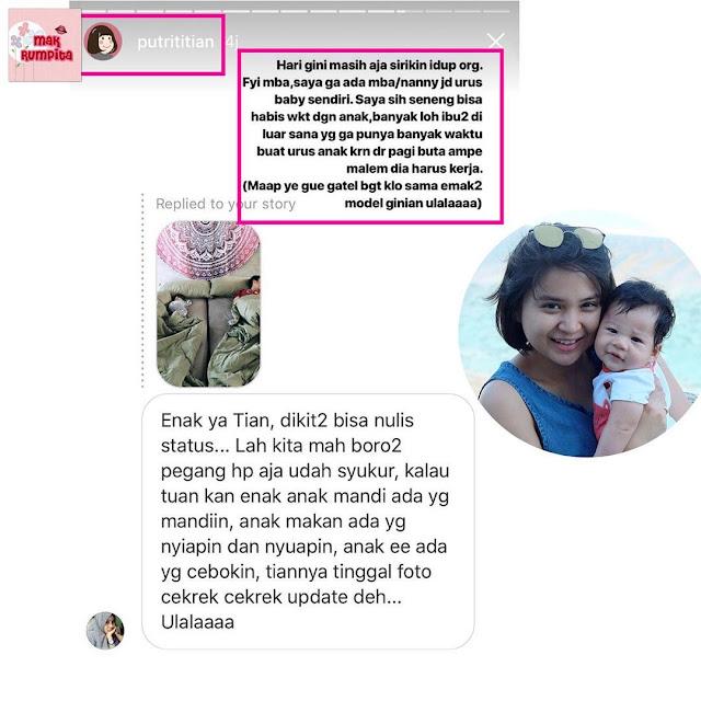 Disindir Netizen Soal Urus Anak Karena Dianggap Enteng, Putri Titian Beri Penjelasan Menohok
