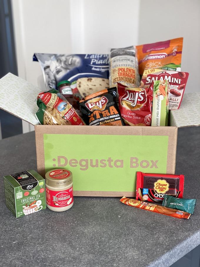 La Degustabox di Dicembre