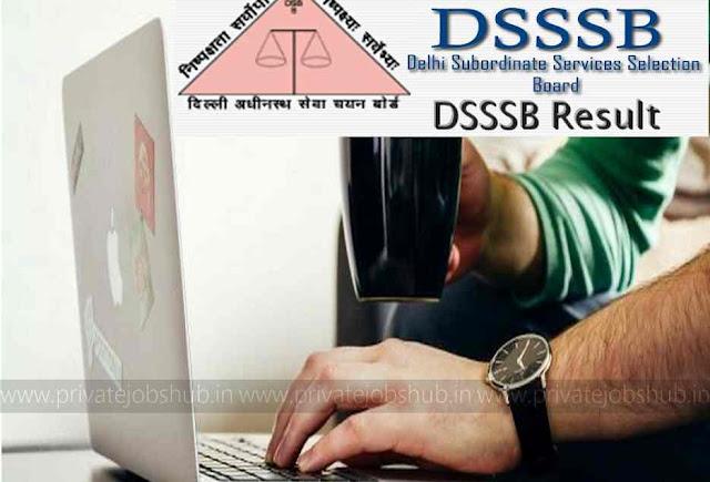 DSSSB Result