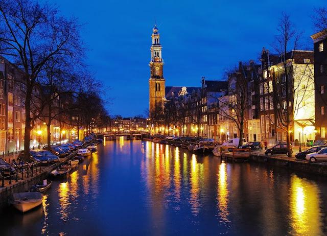 Cruzeiro com passeio romântico em Amsterdã