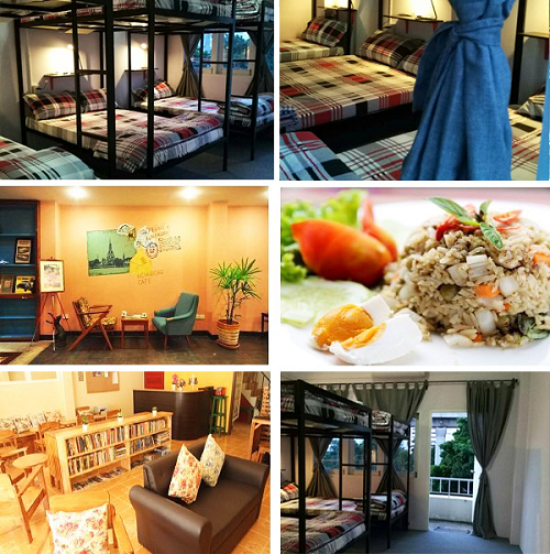 Nha nghi tap the Hostel VIVU Bangkok gia re