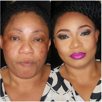Makeup Transformation! Checkout These Before And After Makeup Photos