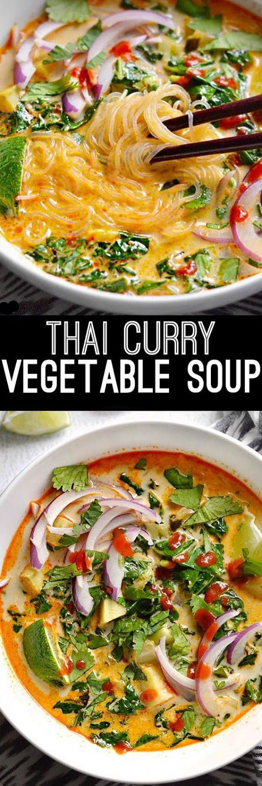 THAI CURRY VEGETABLE SOUP RECIPES