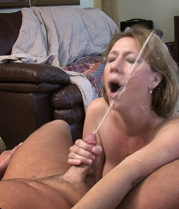 Mother son cum shots #4