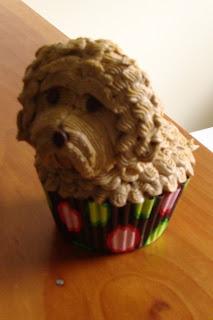 Sweet Treats by Bonnie: Doggie Cupcakes - Cockapoo & Westie