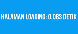 Menghitung Loading Blog Anda
