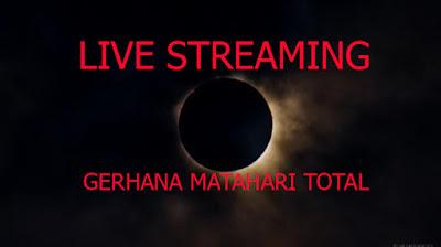 Live Streaming Online Gerhana Matahari Total 9 Maret 2016