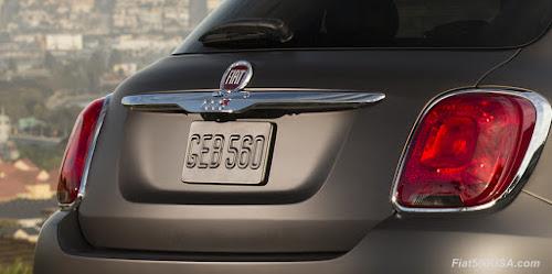 Fiat 500X Liftgate