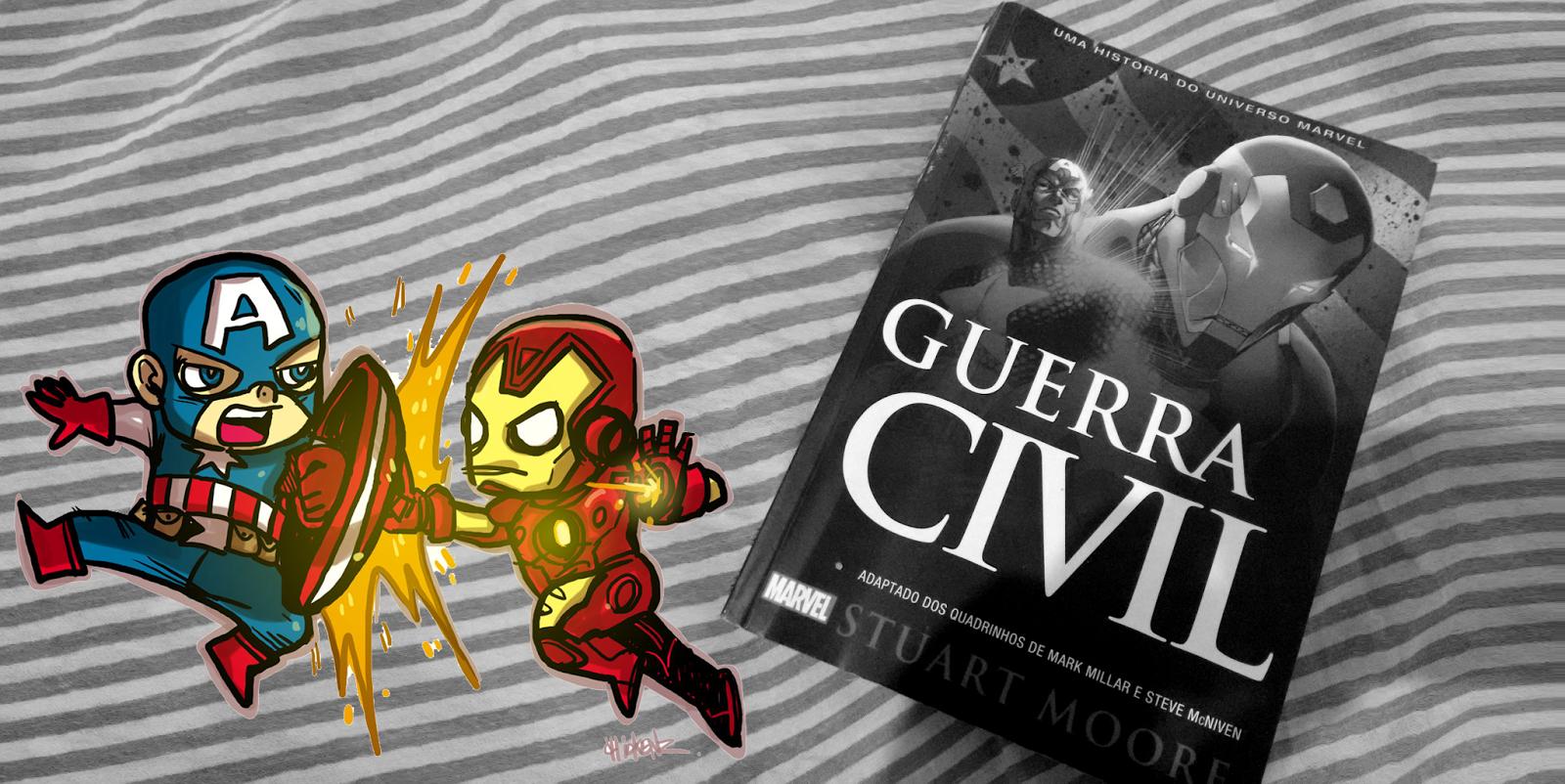 IMG 20150421 234036773 - Marvel: Guerra Civil - Stuart Moore