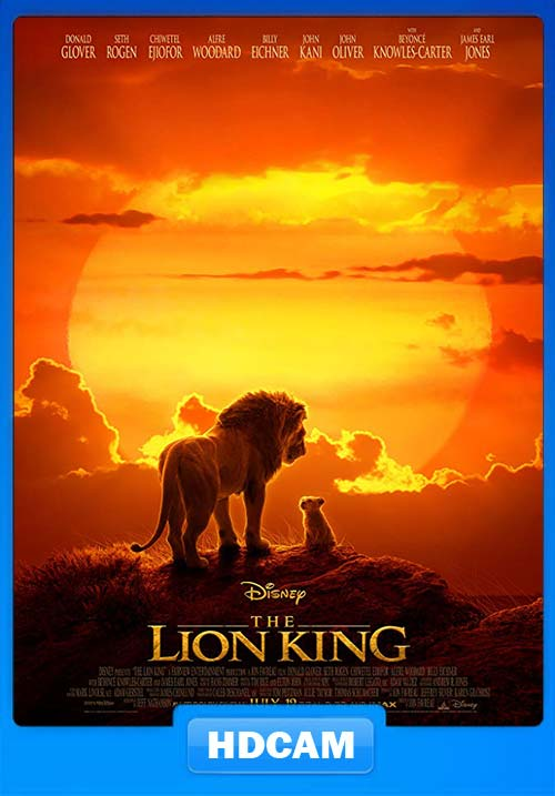 The Lion King 2019 720p HDCAM x264   480p 300MB   100MB HEVC