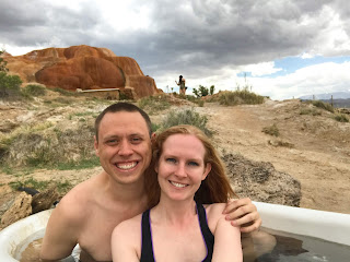 Mystic hot springs bathtub
