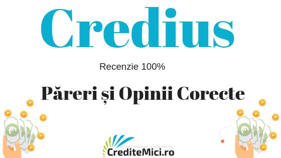 Împrumut Credius. Pareri rapide