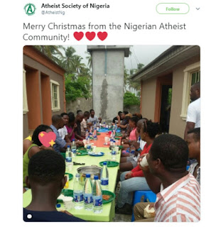 Atheist Society In Nigeria Celebrate Christmas [Photo]