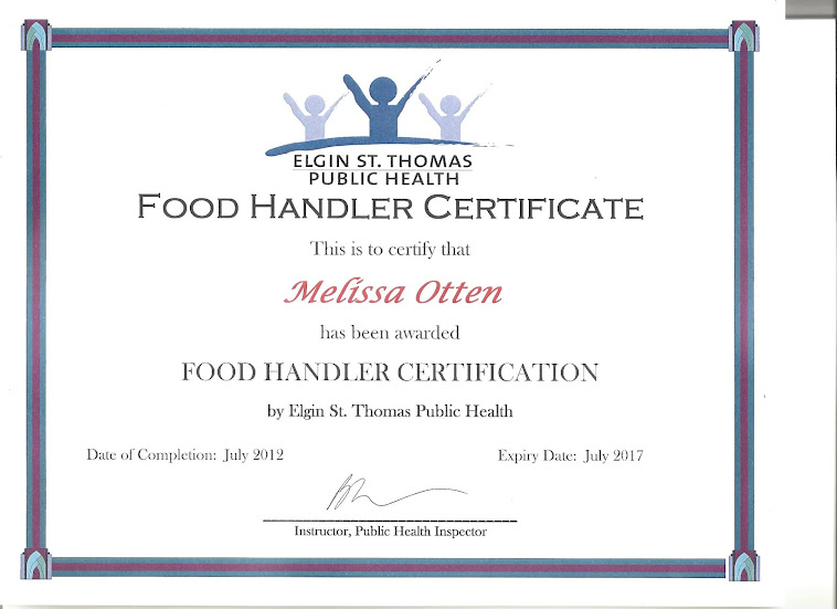 Food Handling Certificate Ca