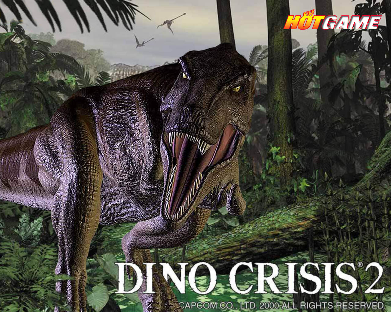 Game Dino Crisis 2 PC/Laptop - Free Download Games