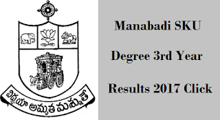 sku 3rd year results 2017 manabadi