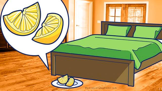 Mira lo que pasa si pones un limón al lado de tu cama