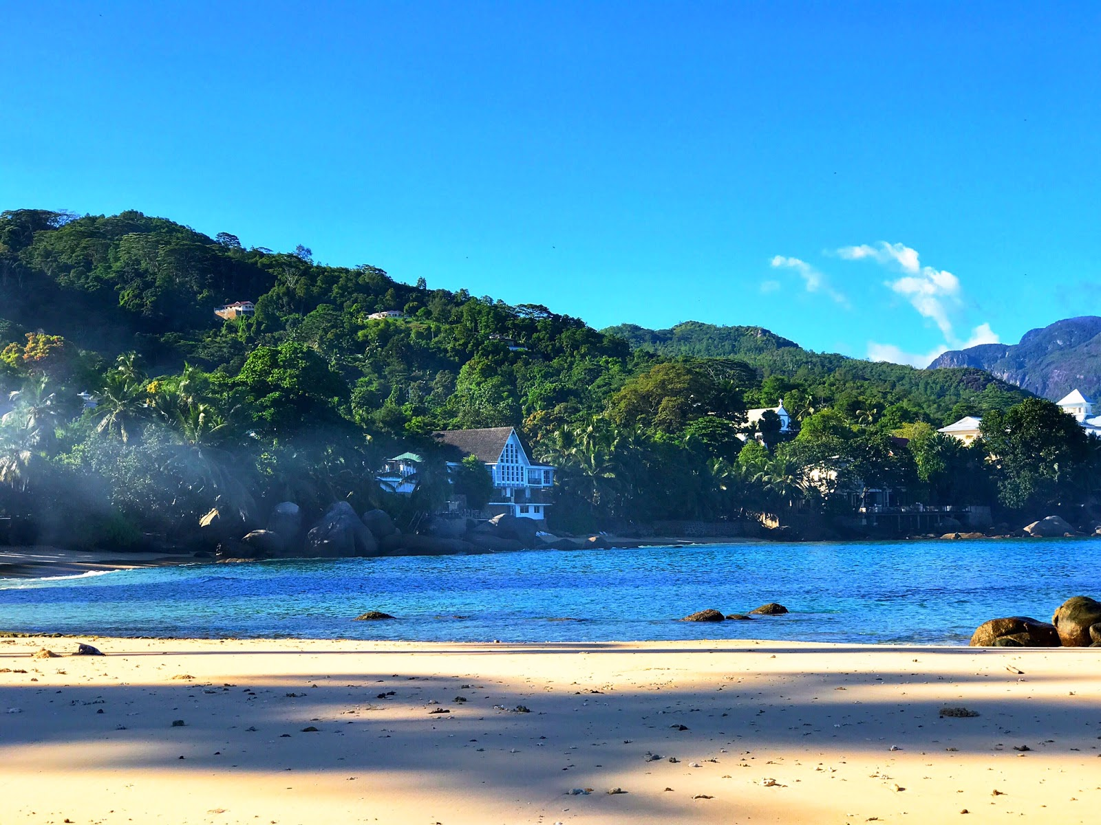 Beau Vallon Beach at Mahe Island, Seychelles