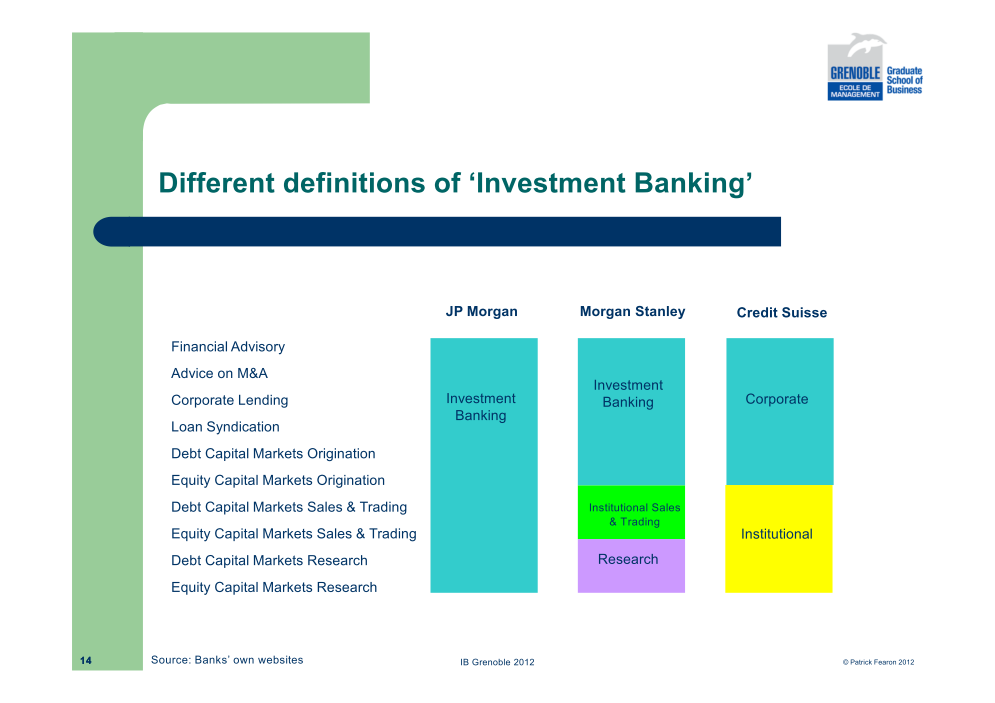 investment bank research report This publication will help you evaluate research reports and analyzing analyst recommendations or research reports here's what an investment banking.